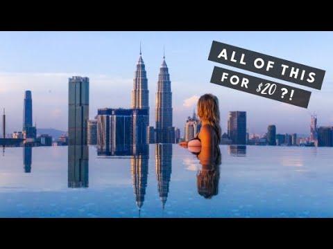 $20 A NIGHT?! This Kuala Lumpur Apartment IS INSANE!