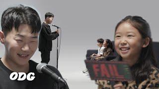 제 점수는요..! 아이들 앞에서 랩 평가받는 행주 | ODG