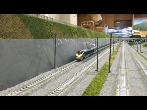 ReColor/リカラー通過するユーロスター Eurostar
