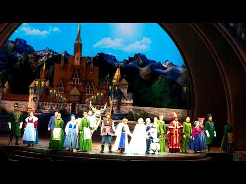 FULL Frozen Live -Anna & Elsa Musical Play - Disneyland 2017 - Hyperion Theater California Adventure
