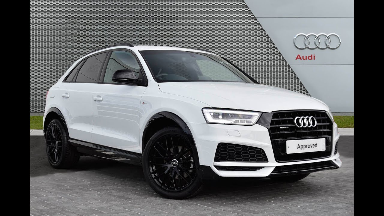 Audi Q3 Tdi Quattro S Line Black Edition White 2017 Youtube