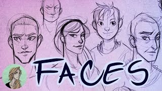 Face in a Crowd  ||  Face Practice