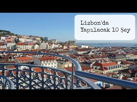 Lizbon'da Yapılacak 10 Şey...