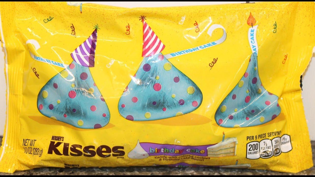 Birthday Cake Hersheys Kisses Review