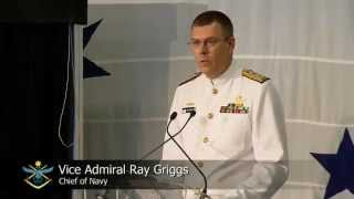 NUSHIP Canberra Naming Ceremony - Chief of Navy