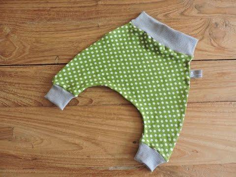 Tutorial Baby Harem Pants 0 3 Mesi Youtube