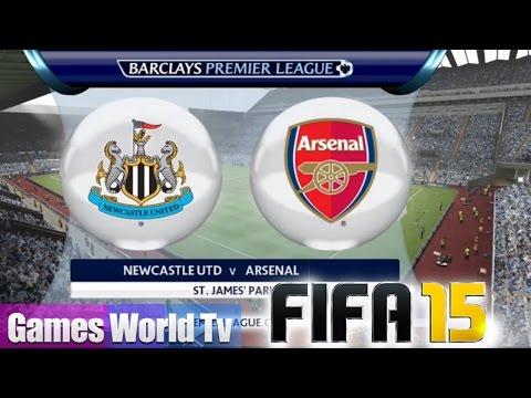 (PS4) FIFA 15 - BPL Season - ARSENAL @ NEWCASTLE UTD