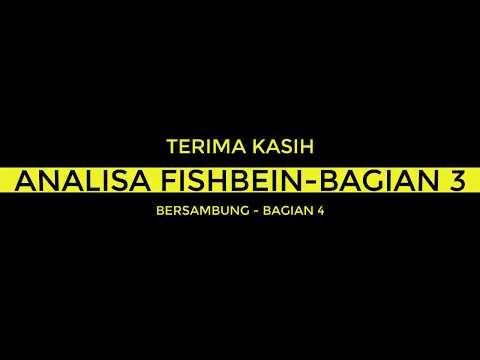 Video Tutorial Metoda Penelitian - Analisa Fishbein