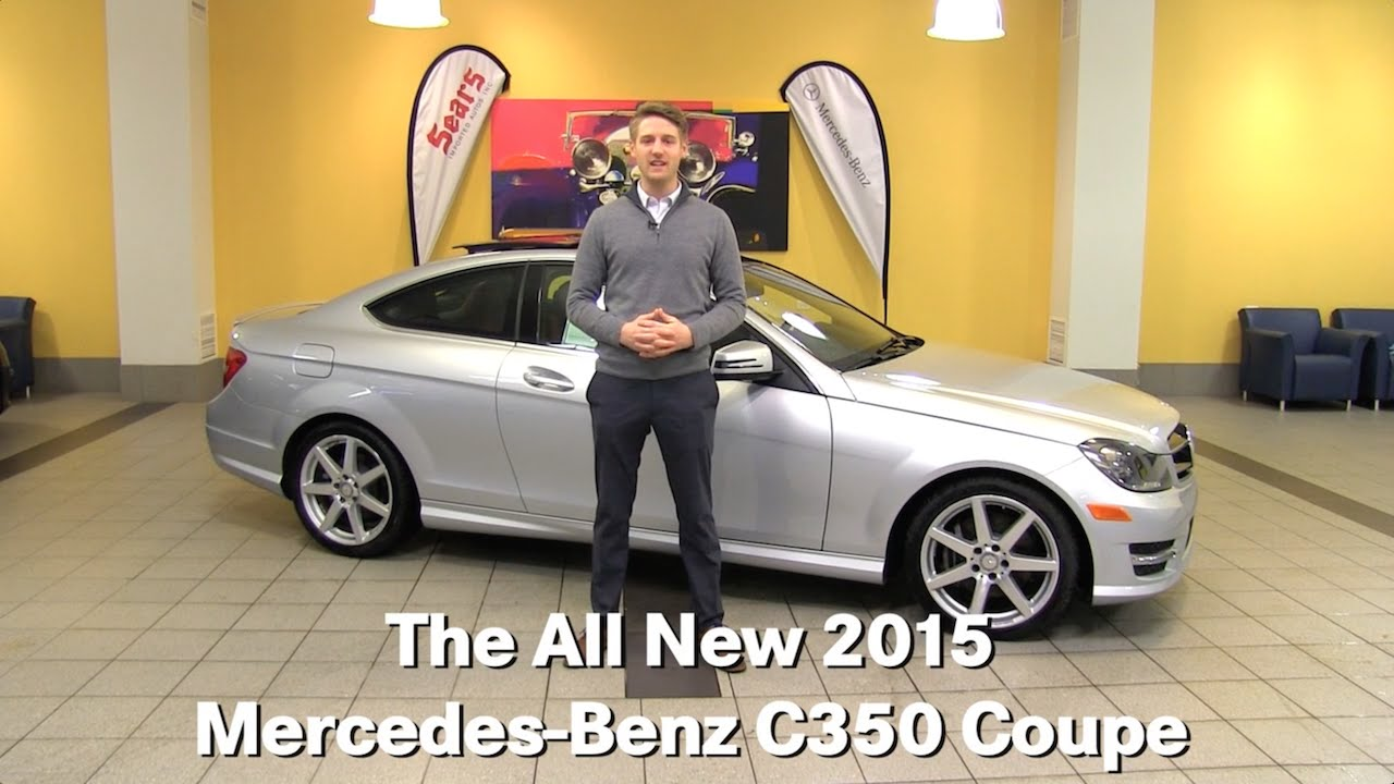 Review the new 2015 mercedes benz c350 c class coupe for Mercedes benz bloomington mn