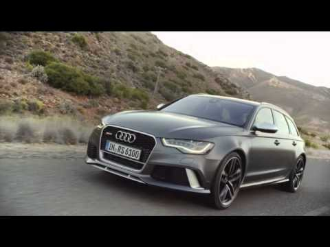 new audi rs6 on the road youtube. Black Bedroom Furniture Sets. Home Design Ideas