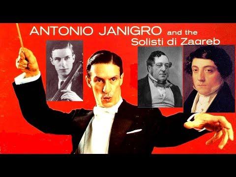 Rossini:Six String Sonatas -AntonioJanigro & Solisti Di Zagreb-2 mono Lps-c.1955