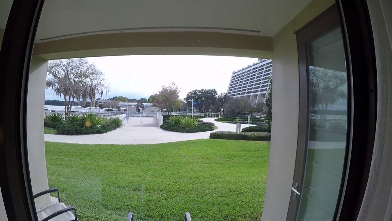 Standard View 1 Bedroom Villa At Disney 39 S Bay Lake Tower 2017 Go Pro Youtube