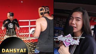 Felycia Nonton Latihan Hito & Cemal Menuju Duel Tinju [Dahsyat] [3 Feb 2016]