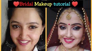 Bridal Makeup| I recreate my bridal look| Makeup tutorial|