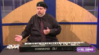 Hammond Digital Leslie Pedal for Keyboard Review | Full Compass