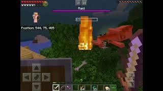 solo Minecraft raid by RedBird