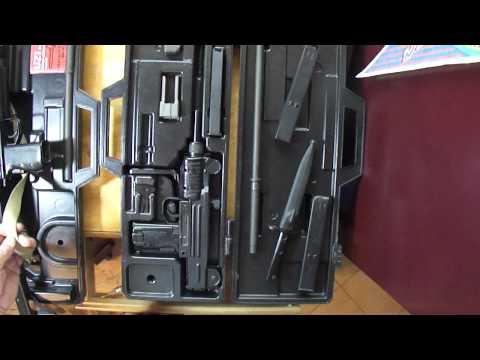 Silenced Uzi 9mm Mini Uzi Carbine 9mm Review