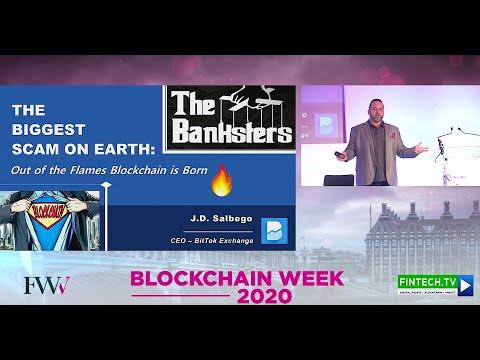 J.D. Salbego Speaks at London Blockchain Summit 2020 - London