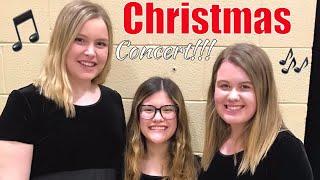 VLOGMAS Day 2: Christmas Concert!!