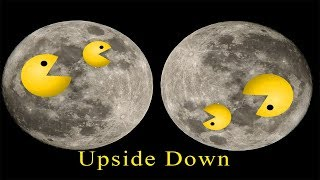 Upside Down Moon Australia DEBUNKED Flat Earth