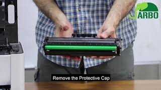 How to install JARBO Samsung MLT-D111S Toner Cartridges for Samsung Xpress M2020W Printer
