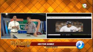Hector Gomez aclara suspension de Robinson Cano