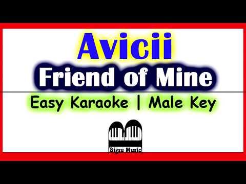 Avicii - Friend Of Mine (Karaoke | Easy to Sing)