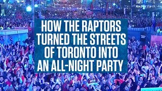 Not since 1993 has the city of Toronto witnessed such an incredible night of fandom and emotion. Donnovan Bennett encapsulates what making the NBA Finals ...
