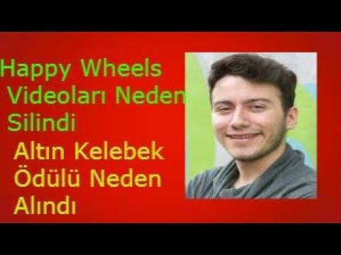Enes Batur Happy Wheels Videoları Neden Silindi/Altın Kelebek Ödülü Neden Alındı Detaylı Anlatım