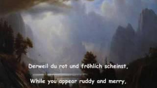"""Hans Pfitzner: Cantata, """"Von deutscher Seele"""" Part 1 """"Mensch und Natur""""  1-6"""