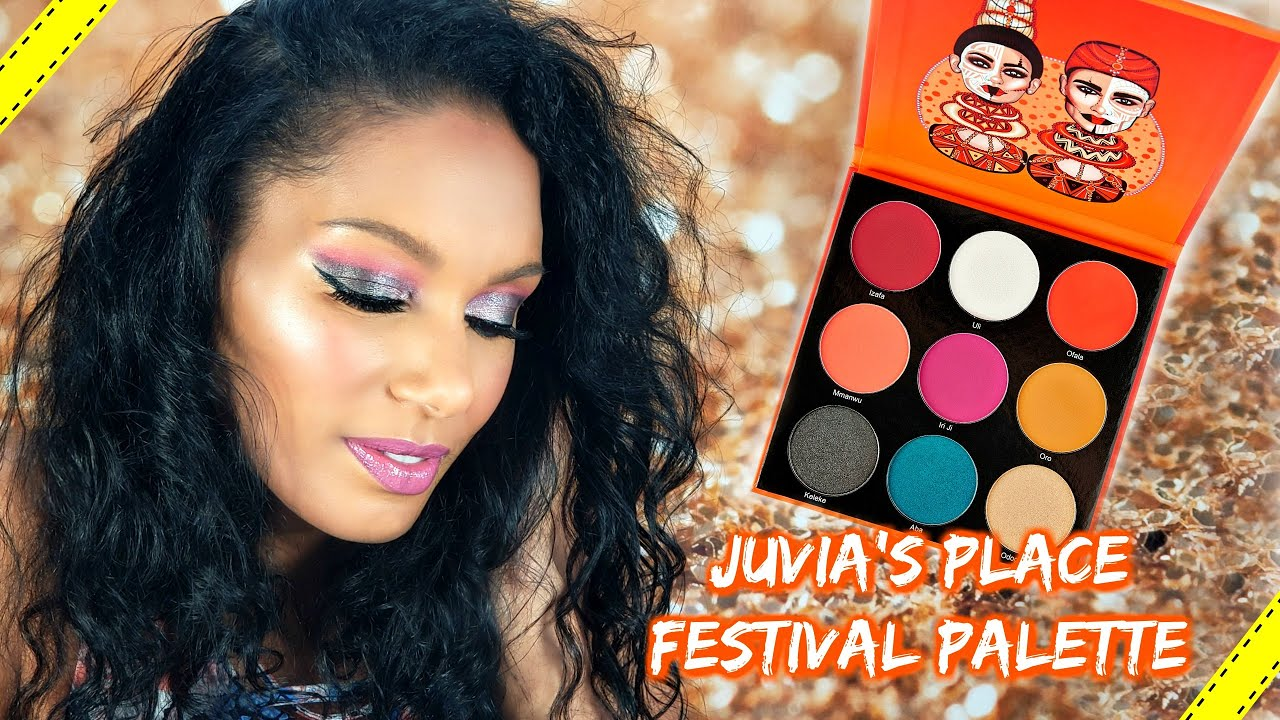 Pink + Gray Eye Makeup Tutorial │Juvia's Place Festival Palette Review
