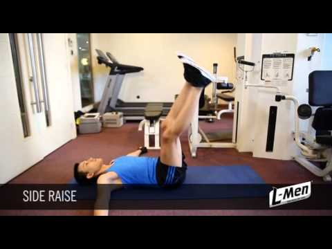 Gerakan Latihan Otot Oblique - Side Raise