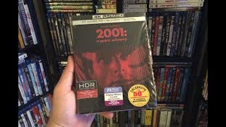 2001: A Space Odyssey 4K BLU RAY REVIEW + Unboxing