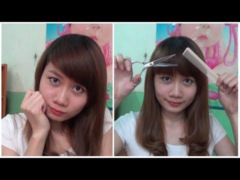 Hairstyles - Tự Cắt Tóc Mái 2 Trong 1 ( Mái Xéo + Mái Ngố ) Chỉ 1 Với Lần Cắt