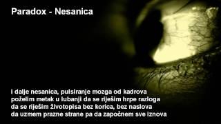 Paradox - Nesanica