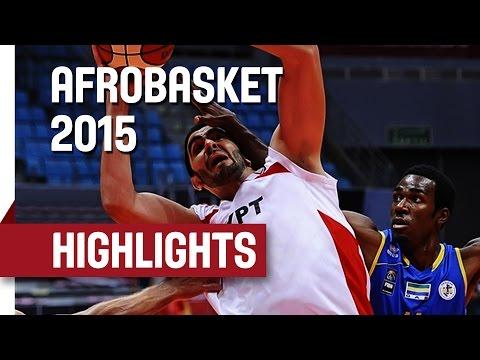 Egypt v Gabon - Game Highlights - Group C - AfroBasket 2015