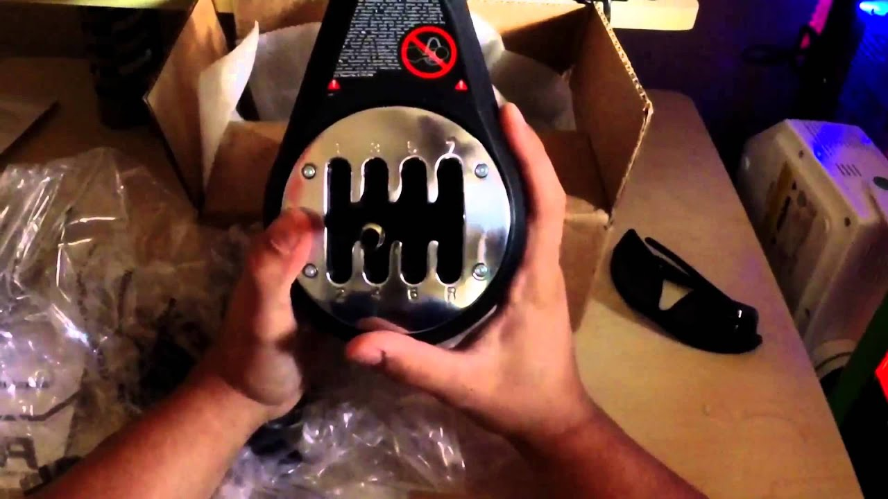 THRUSTMASTER TH8A SHIFTER UNBOXING