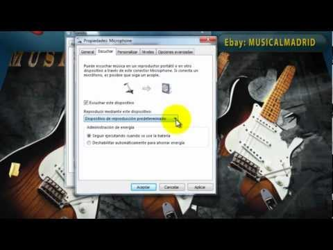 Problemas Audio ASIO Windows 7 ASIO4ALL