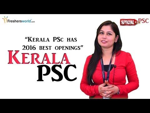 kerala Public Service commission - KPSC 2016 Recruitment & Results