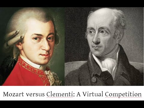 Mozart versus Clementi: a Virtual Competition.  Fortepiano recital by Robert Hill. Live 2008