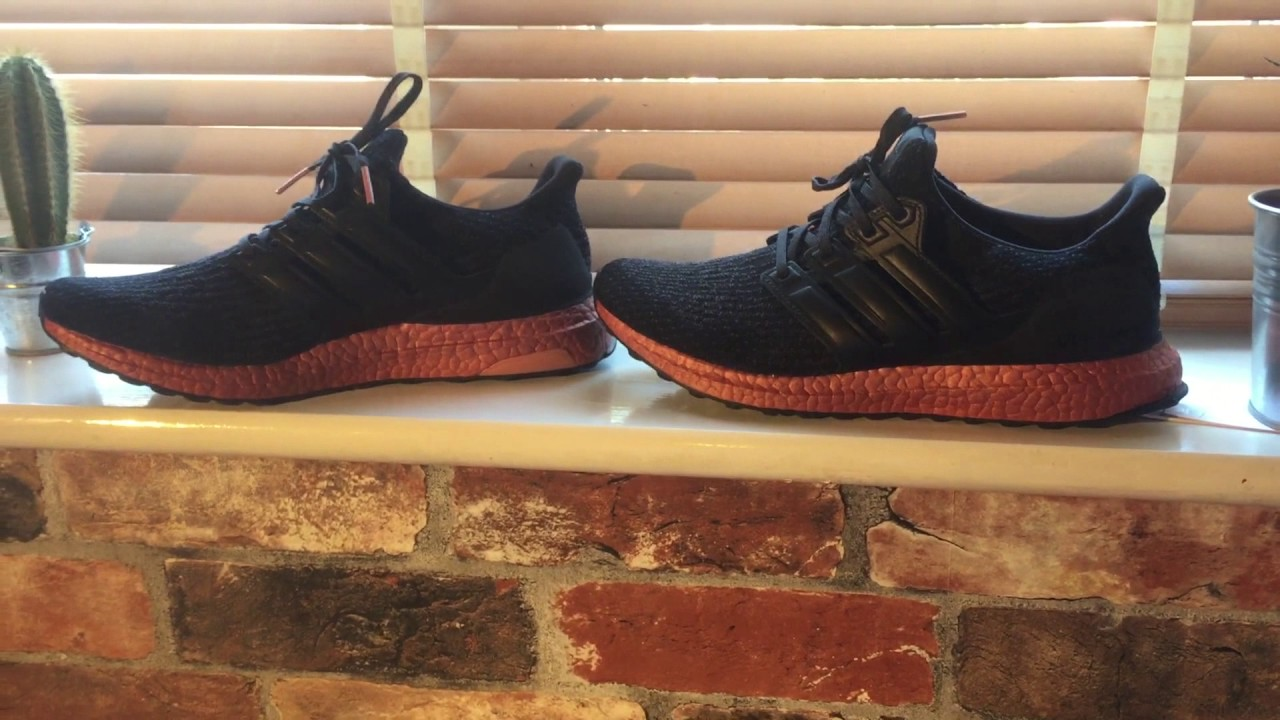 10af4c732beca Adidas Ultra boost 3.0 Bronze Overview (tech rust) - YouTube