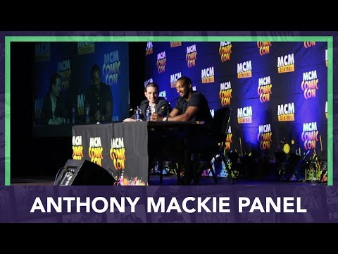 Anthony Mackie Panel at MCM London Comic Con 2017