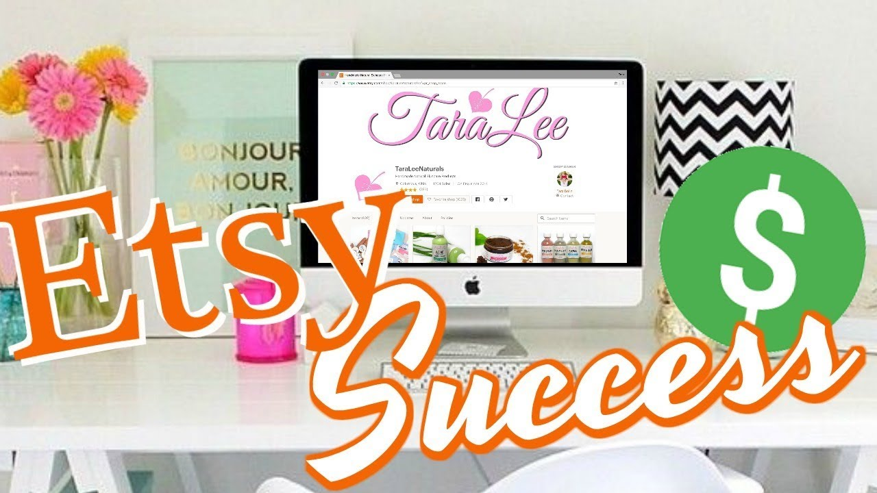 Tips for a Successful Etsy Shop ; Fees, Revenue, Taxes, Coupons, & More
