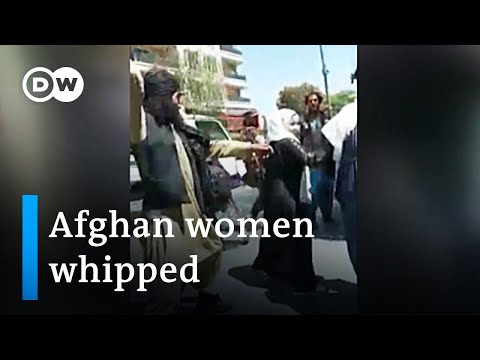 Taliban whip women protesters and beat journalists covering protests   DW News