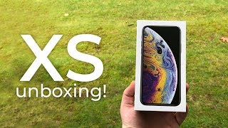 iPhone XS unboxing!