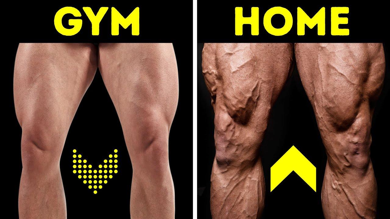 9-minütiges Heimtraining für starke Beine ohne Gewichte + video