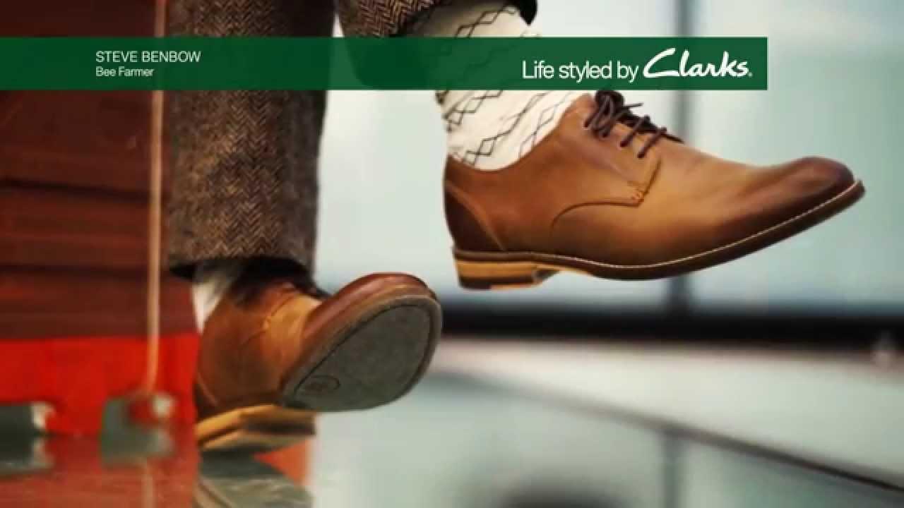 Introducing the Clarks Exton Walk men's shoe