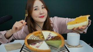 수다 많은 타르트 ASMR|Eating sounds|Kelly