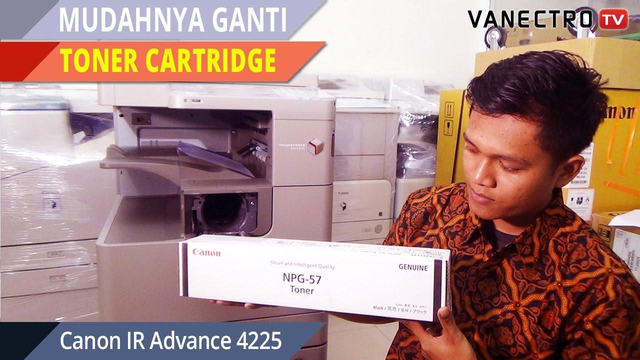 Tutorial Ganti Toner Cartridge Mesin Fotocopy Canon Ira 4225 Youtube Drum Unit Npg 26 Original
