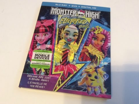 Download Critique du film Monster High: Electrified (Monster High - Électrisant) en Blu-ray